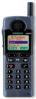 Galeria zdjęć telefonu Siemens S10