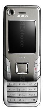 Galeria zdjęć telefonu Siemens SG75