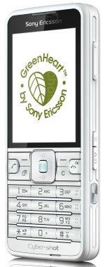 Galeria zdjęć telefonu Sony Ericsson C901 GreenHeart