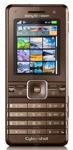 Galeria zdjęć telefonu Sony Ericsson K770i