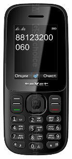 Galeria zdjęć telefonu teXet TM-D109