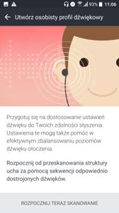 Tworzenie profilu audio uSonic