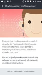 Ustawienia dźwięku | HTC Usonic