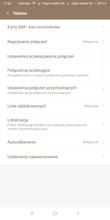 Obsługa dwóch kart SIM   Panel połączenia   Ustawienia połączeń