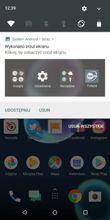 Powiadomienia, skróty, aplikacje w tle i Miravision