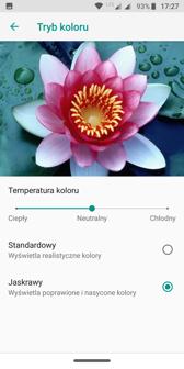 Tryb kolorów | Personalizacja interfejsu