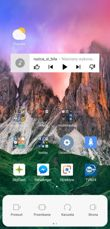 Ekran blokady, pulpit i jego opcje, powiadomienia, skróty, folder, ostatnie, dzielenie ekranu