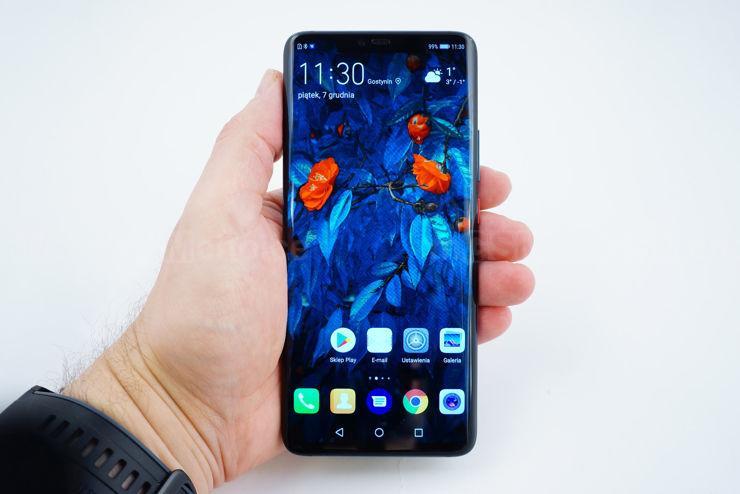 Huawei Mate 20 Pro - wyświetlacz