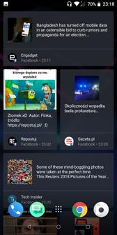 BlinkFeed | Wybór aplikacji do zainstalowania | Menu aplikacji