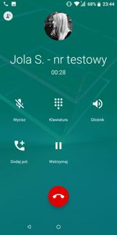 Ustawienia dual SIM | Połączenia głosowe
