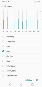 Ustawienia dźwięku i efekty