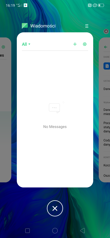 Rozbudowany panel powiadomień i skrótów oraz menu ostatnich ap.