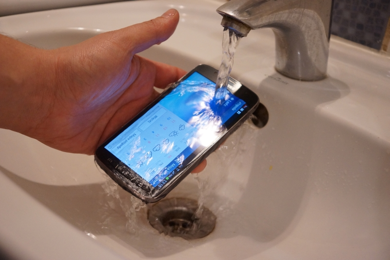 Samsung Galaxy S4 Active Waterproof Test